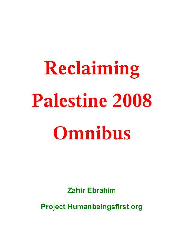 Reclaiming Palestine 2008 Omnibus