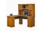 Orchard Hills Computer Desk with Hutch, OFG-CD0030