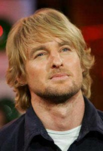 Owen Wilson's Long Layered Hair