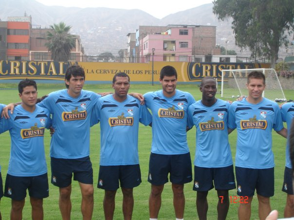 Los refuerzos 2010 (foto:Prensa Sporting Cristal)