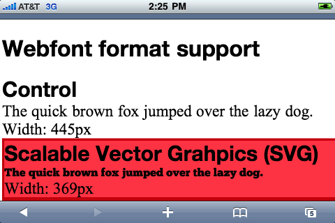 Mobile Safari renders SVG text too small
