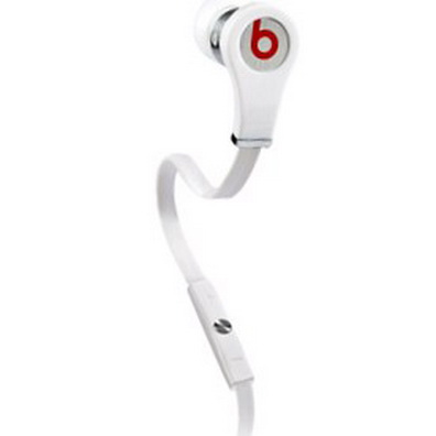 Moster Beats Tour Headphones With Controltalk (White)