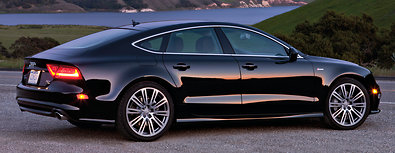 SUPERCHARGED The 2012 Audi A7 is powered by a 310-horsepower V-6.