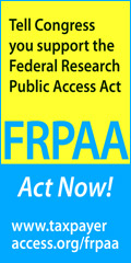 Call to action: Tell Congress you support the Federal Research Public Access Act