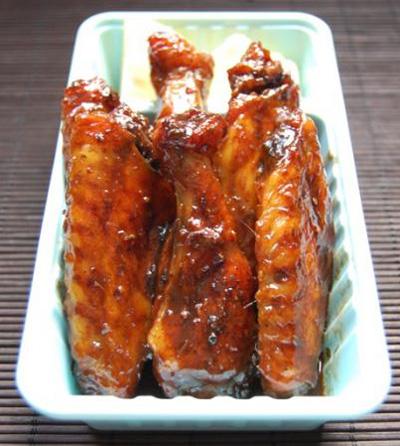 alitas 20con 20jarabe 20de 20arce Receta de alitas de pollo con jarabe de arce