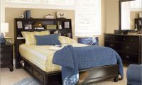 Contemporary Bed with Under Bed Storage