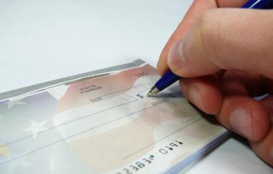 Finding right bank  account  on check process for safety . - ( in detail ) .