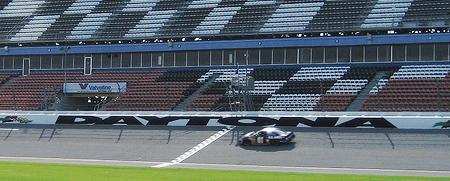 Start Finish Line at Daytona International Speedway