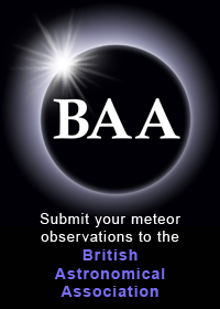 BAA Meteor Section