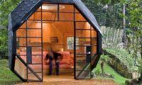 Unique Back Yard Child Playhouse Polyhedron Habitable by Manuel Villa