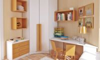 Simple Colorful Teen Bedroom Design Ideas by Sergi