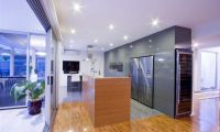 Modern Futuristic Kitchen Interior Remodeling by Darren James