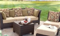 All Weather Outdoor Wicker Sectional Conversation Patio Set –  Fiji Bay