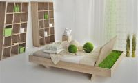 Unique and Unusual Wooden Bed Design by Vitamin Design