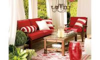 Contemporary Outdoor Grommet Drape by Pottery Barn