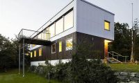Contemporary Plastic House with Swedish Style Home Design Ideas