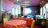 Contemporary and Very Colorful Beach House Design Ideas