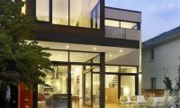 Modern Contemporary Residence Design with Cozy Interior and Exterior