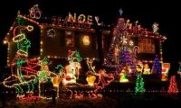 Very Great and Creative Outdoor Christmas Lights Home Decorating Ideas