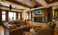Luxury Rustic Interior Design for Lakeview Residence – A Gorgeou House