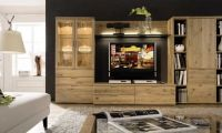 Solid Oak and Contemporary Beech wall Decorating Ideas by Huelsta