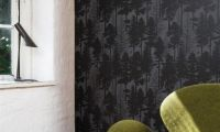 Stylish Black and White Wallpapers Decorating Ideas