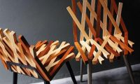 Nest Chair by Rush pleansuk – Woven Wood Seating