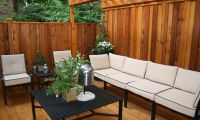Contemporary Private Deck Pictures