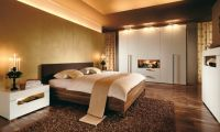 Contemporary Warm Bedroom Design Ideas by Huelsta
