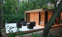 Contemporary and Minimalist Eco-Friendly Garden Studio Design Ideas