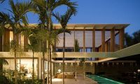 Exotic and Elegant Residence with Glamour Interior Design in Brazil