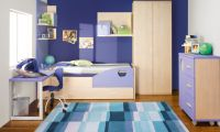 Cozy Kids Bedroom Design – Colorful Bedding Decorating Ideas by KIBUC