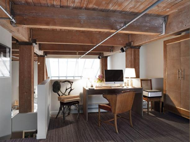 Working Desk at Apartment Interior Design with Contemporary and Modern Style