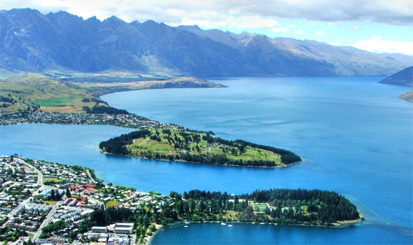 Queenstown, from the top