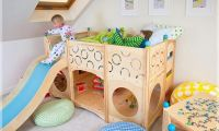 Funny and Modern Kids Play beds Design Ideas – Made of Natural Wood