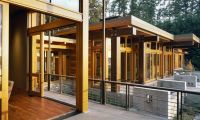 Luxury and Modern Wooden House Design Ideas with Nature Surround – Island Residence