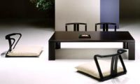 Contemporary Asian Looks – Japanese Dining Room Interior Furniture Design by Hara
