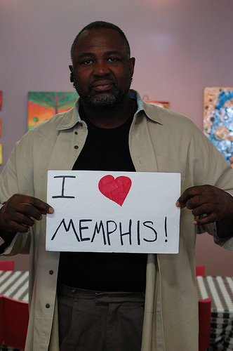 Kimberly Petties loves Memphis
