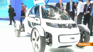 Video: VW, Audi Electric Cars at Frankfurt Motor Show
