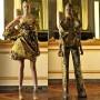 Prendas en color dorado de Alexander McQueen