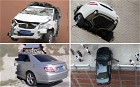 Embarrassing car crashes and road accidents in pictures