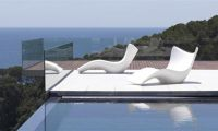 Modern and Comfortable Looking Garden Daybed – Stylish Outdoor Furniture by Vondom