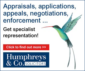 Planning appraisals, applications, objections, appeals