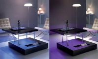 Modern LED Table Decorating Ideas – LED Lit Tables by Ozzio
