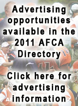Advertising for 2011 AFCA Directory
