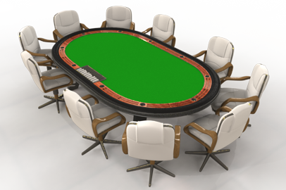 Picture of online poker
