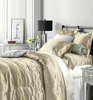 гламурный интерьер спальни 27
