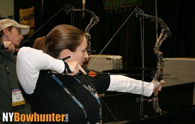 NYBowhunter.com testing out the 2011 Elite Hunter