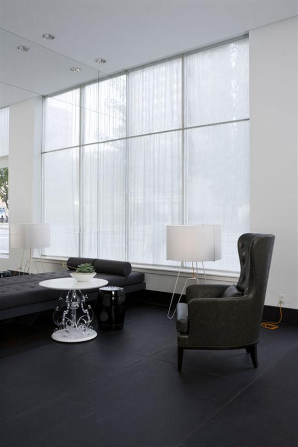 Luxury looks on Black and White Apartment Interior Renovation