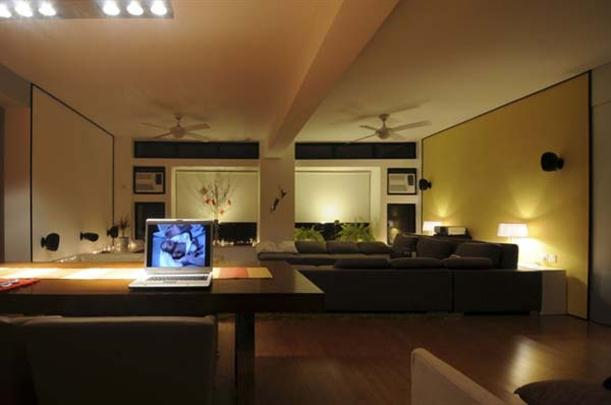 Main Interior at Contemporary Interior Design Matsuki Residence
